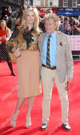 Stock Picture of Penny Lancaster and Rob Stewart