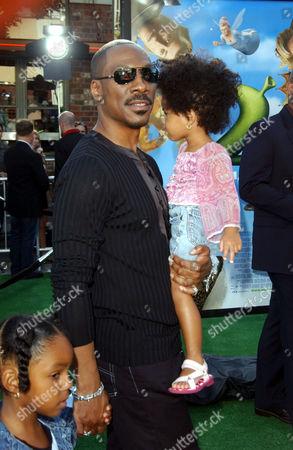 Eddie Murphy and Daughter Zola Ivy