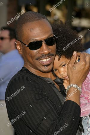 Stock Photo of Eddie Murphy and Daughter Zola Ivy