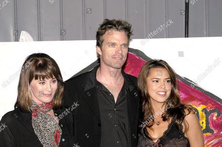 PATRICIA RICHARDSON, JOSH COXX AND ROSA BLASI