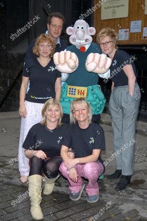 L-R - back - Tracey Wilkinson, Jack Ellis, Linda Henry, Pauline Campbell, Victoria Alcock