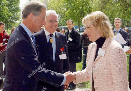 PRINCE CHARLES MEETING THE NEW CHIEF EXECUTIVE OF THE PRINCE'S TRUST MARTINA MILBURN