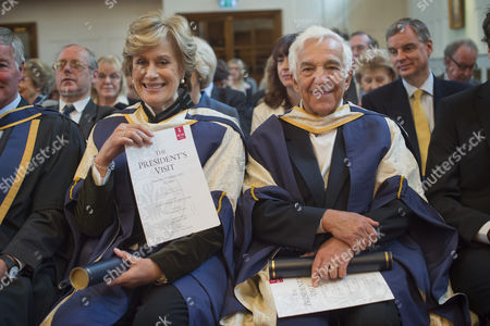 Editorial image of Royal College of Music Honorary Awards Presentations, London, Britain - 12 Mar 2015