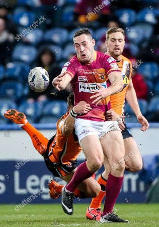 Editorial photo of Huddersfield Giants v Castleford Tigers, First Utility Super League, Rugby League, The John Smiths Stadium, Britain - 12 Mar 2015