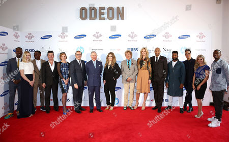 Stock Picture of Jamal Edwards, Fearne Cotton, Labrinth, Simon Cowell, Darcey Bussell, Kevin Spacey, Prince Charles, Prince Charles, Ella Henderson, Rod Stewart, Penny Lancaster, Thierry Henry, Oritse Williams, Gok Wan, Anna Williamson and George Mpanga aka George The Poet