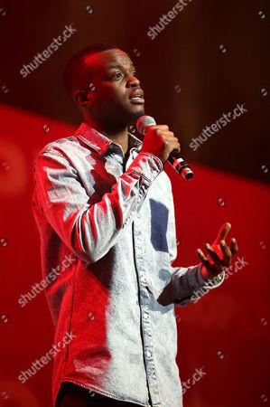 Stock Photo of George Mpanga aka George The Poet