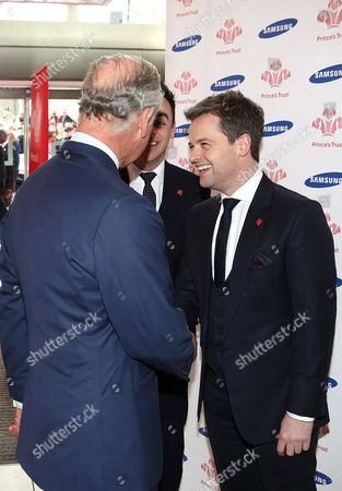 Prince Charles, Anthony McPartlin and Declan Donnelly