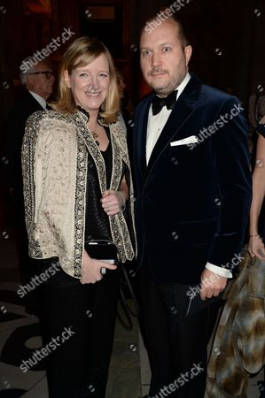 Stock Image of Sarah Burton and David Burton