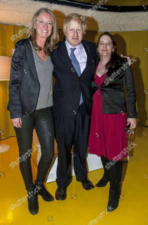 Boris Johnson, Justine Roberts and Gilly Hickinbotham