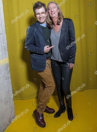 Gareth Malone and Justine Roberts