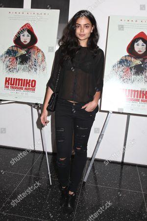 Editorial photo of 'Kumiko: The Treasure Hunter' Cinema Society film screening, New York, America, New York, America - 12 Mar 2015