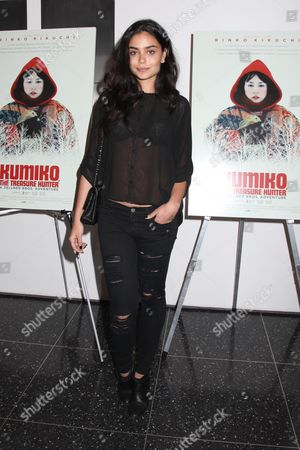 Editorial picture of 'Kumiko: The Treasure Hunter' Cinema Society film screening, New York, America, New York, America - 12 Mar 2015