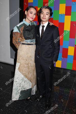 Rinko Kikuchi and husband Shota Sometani
