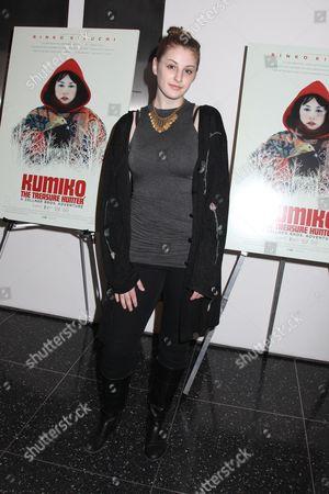 Editorial image of 'Kumiko: The Treasure Hunter' Cinema Society film screening, New York, America, New York, America - 12 Mar 2015
