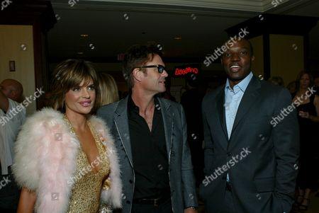 Lisa Rinna, Harry Hamlin and Kwame Jackson