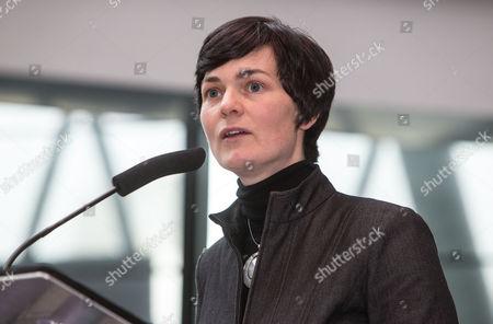 Ellen MacArthur, founder of the Ellen MacArtur Foundation which encourages businesses