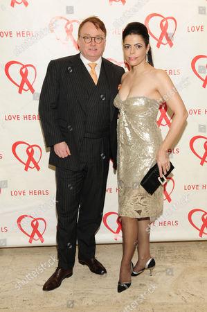 Stock Photo of Richard Farley and Chele Chiavacci