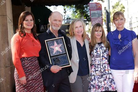 Marcia Gay Harden, Ed Harris, Amy Madigan, Holly Hunter and Glenne Headly