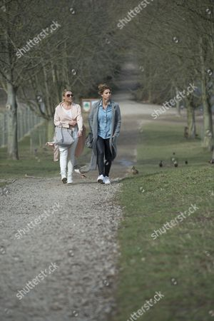 Editorial photo of 'The Only Way is Essex' cast filming, Britain - 13 Mar 2015