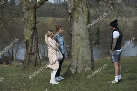 Editorial image of 'The Only Way is Essex' cast filming, Britain - 13 Mar 2015