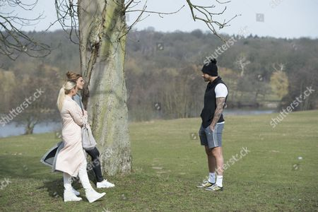 Stock Picture of Ferne McCann ventures out to South Weald Park with Billie Faiers after her split with Charlie-Sims