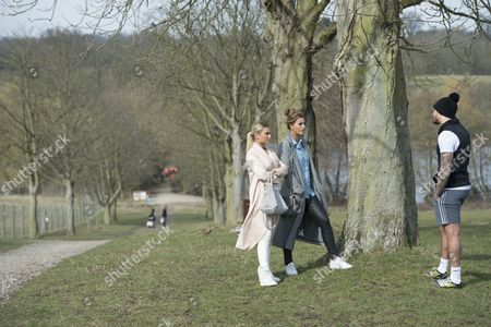 Editorial picture of 'The Only Way is Essex' cast filming, Britain - 13 Mar 2015
