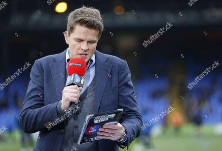 BT Sport TV presenter Jake Humphries