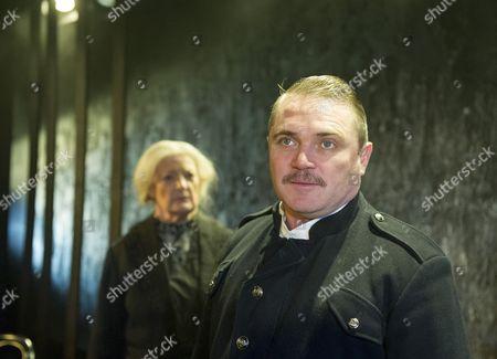 June Watson as Nurse, Alex Ferns as Captain,