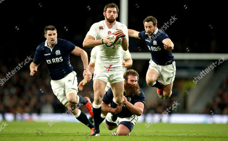 Editorial photo of RBS 6 Nations Championship, Twickenham Stadium, London, England, England vs Scotland  - 14 Mar 2015