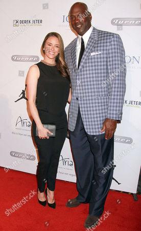 Stock Image of Michael Jordan, Yvette Prieto