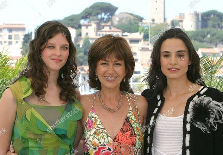 Mercedes Moran, Julieta Zylberberg and Mia Maestro