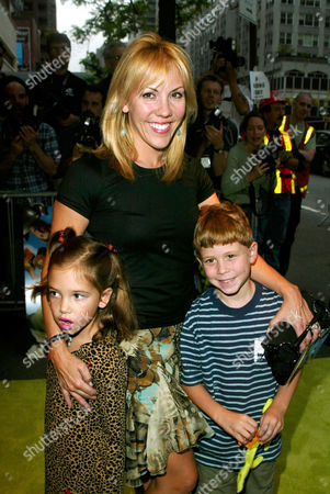 Heather Randall with children