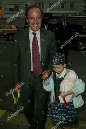 Mort Zuckerman with daughter