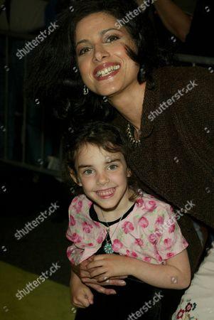 Saundra Santiago with daughter