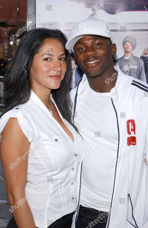 Sophia Adella Hernandez with husband Derek Luke