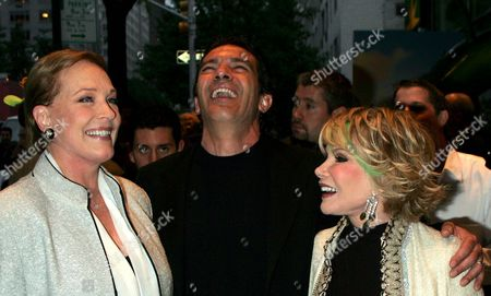 Julie Andrews, Antonio Banderas, Joan Rivers
