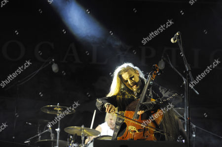 Editorial picture of Apocalyptica in concert at Vive Latino Music Festival, Mexico City, Mexico - 14 Mar 2015