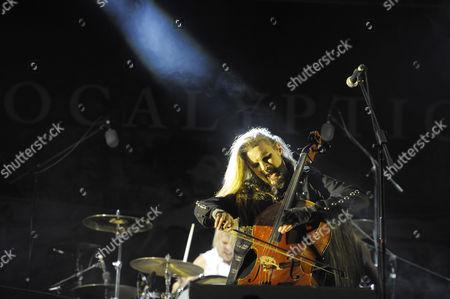 Editorial photo of Apocalyptica in concert at Vive Latino Music Festival, Mexico City, Mexico - 14 Mar 2015