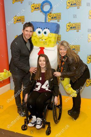 Editorial photo of 'The SpongeBob Movie: Sponge Out of Water' film premiere, London, Britain - 15 Mar 2015