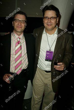 Stock Image of Jordan Levin and Garth Ancier