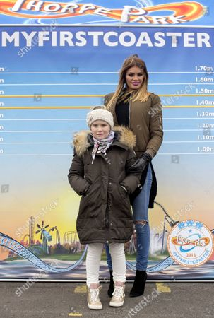 Chloe Sims and daughter Madison Sims