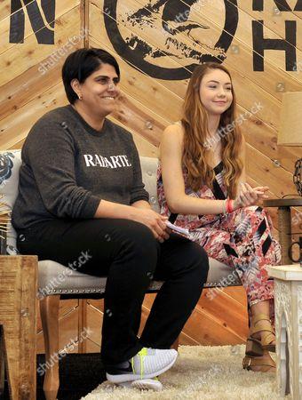 Moj Mahdara and Meredith Foster