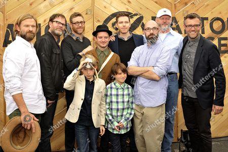 Rainn Wilson, Elijah Wood, Jared Breeze, Aiden Lovekamp, Craig William Macneill, Clay McLeod Chapman and David Morse