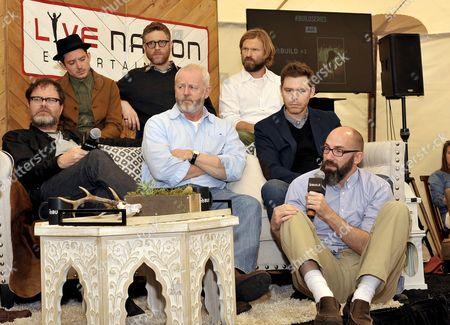 Rainn Wilson, Elijah Wood, David Morse, Craig William Macneill and Clay McLeod Chapman