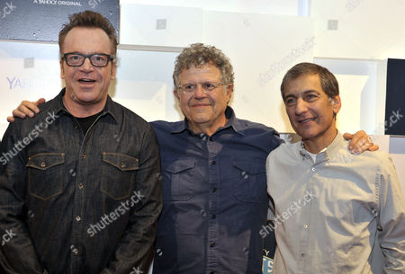 Tom Arnold, Bryan Gordon and Mike Tollin
