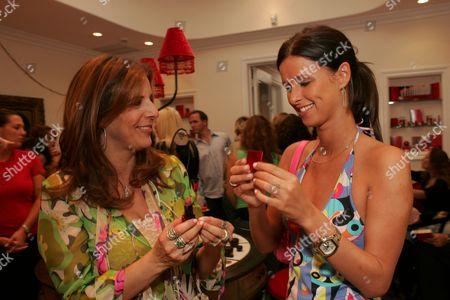 Victoria Jackson and Nicky Hilton