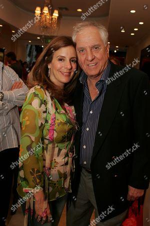 Victoria Jackson and Garry Marshall