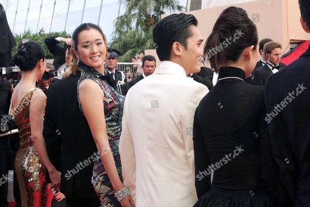 Stock Image of Chang Chen, Fawe Wong, Tony Leung Chui Wai, Gong Li, Kimura Takuya and Carina Lau Ka Ling