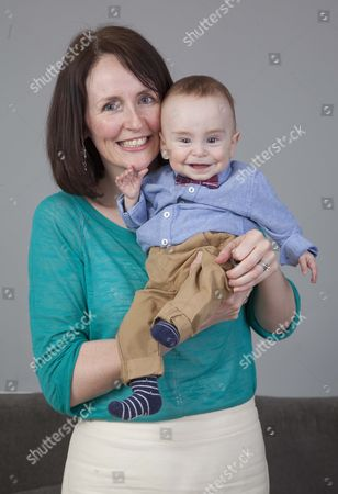 Michael Moloney with mother Michelle