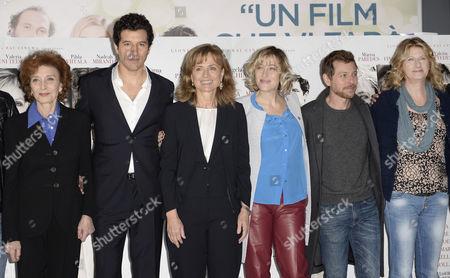 Director Cristina Comencini and cast Marisa Paredes, Francesco Scianna, Valeria Bruni Tedeschi, Claudio Gioe, Angela Finocchiaro